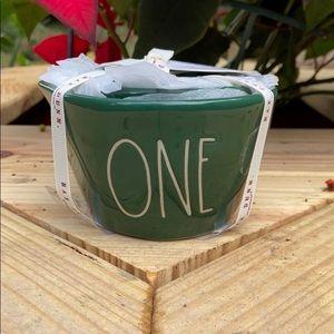 New Rae Dunn Green Measuring Cup Set